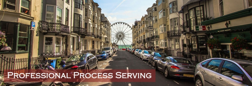 Professional and experienced process serving.